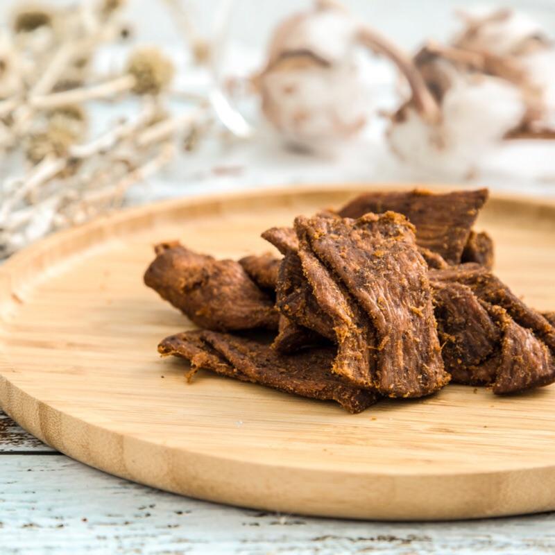 素牛肉乾 200克/ 包【台北譽展蜜餞行】