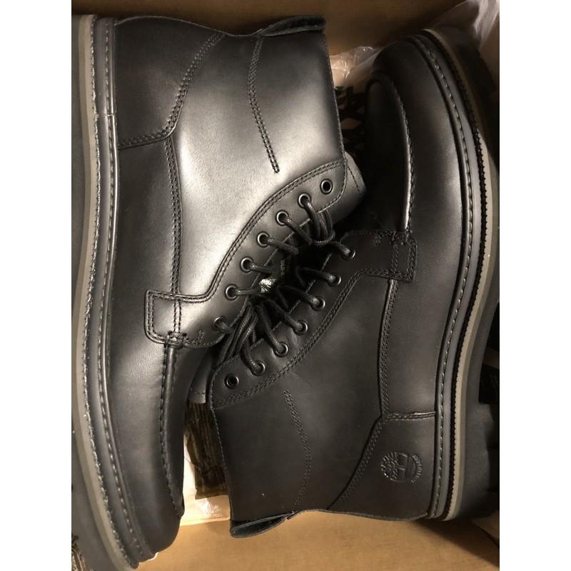 (高雄誠信小舖) Timberland Port Union Waterproof Boots男款黑色防水全粒面革靴