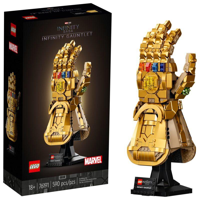 《嗨樂高》(現貨優惠商品)LEGO 76191 無限手套 Infinity Gauntlet