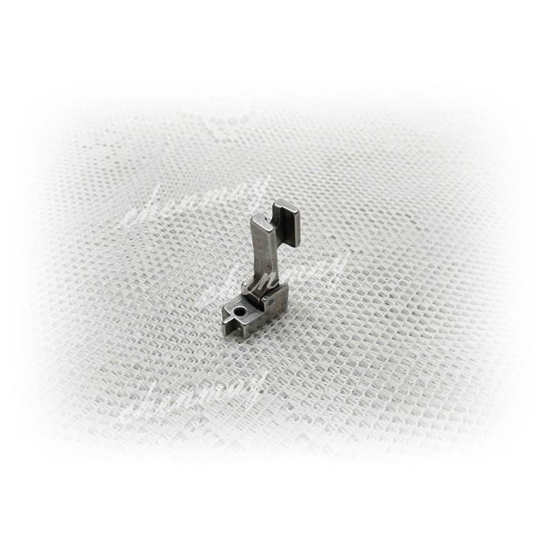全美日購*鐵製有導縫隱形拉鍊壓腳=適用於拼布材料兄弟juki勝家三菱工業用縫紉機平車壓布腳*仿工業機