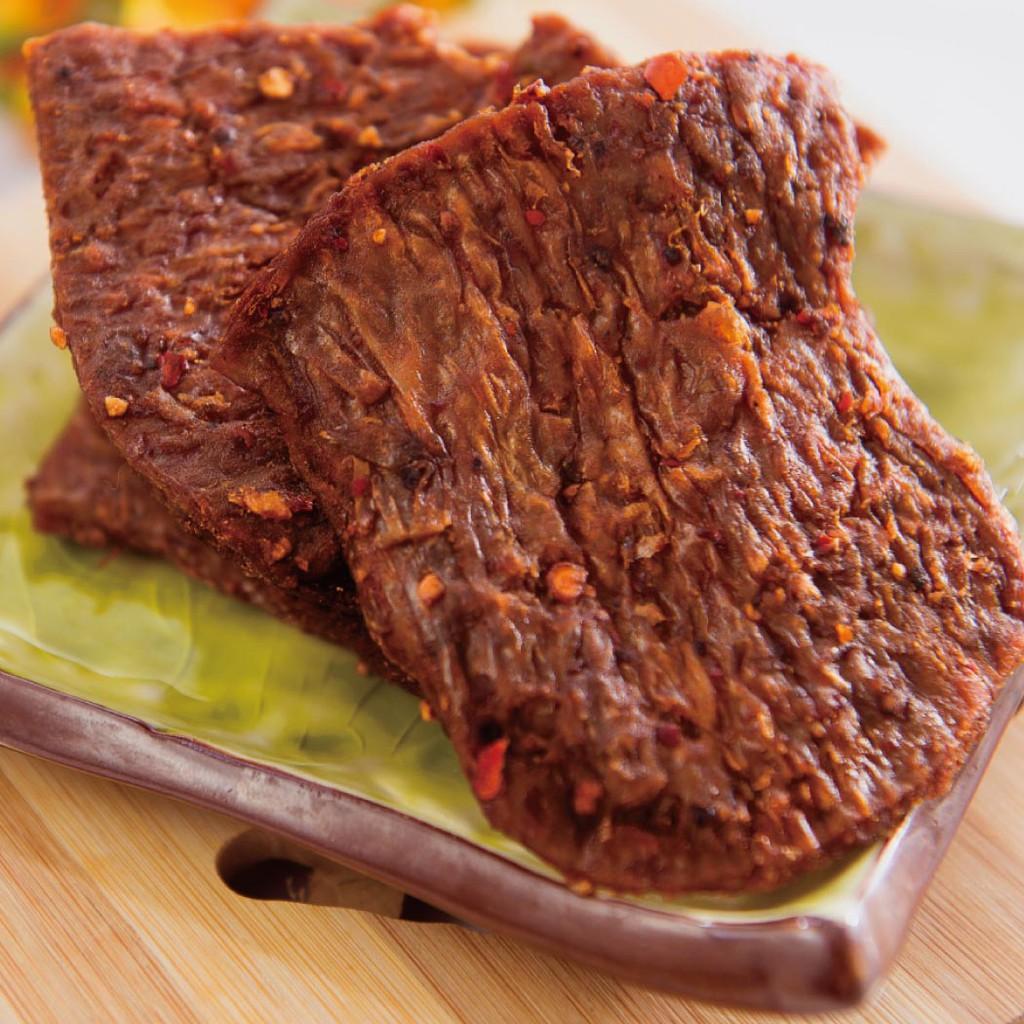 《裕芳食品》(全素)黑胡椒素肉片