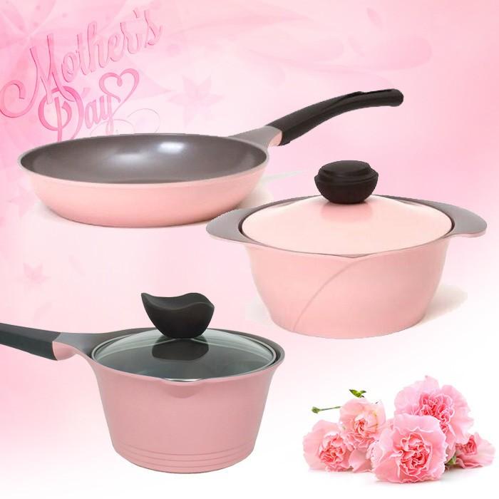 NEOFLAM+玫瑰/薔薇鍋3件超值組