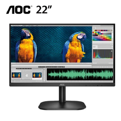 AOC 22B2H 22吋 螢幕 液晶顯示器 顯示器 廠商直送 現貨