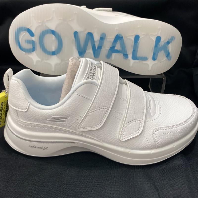 💯公司貨✨SKECHERS GO WALK 魔鬼氈 健走鞋 型號124116BBK(全黑) 全白 護士鞋 工作鞋