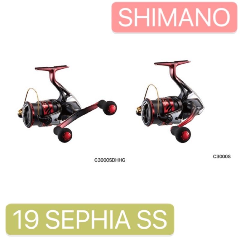 SHIMANO 19 SEPHIA SS 紡車 軟絲 路亞 捲線器