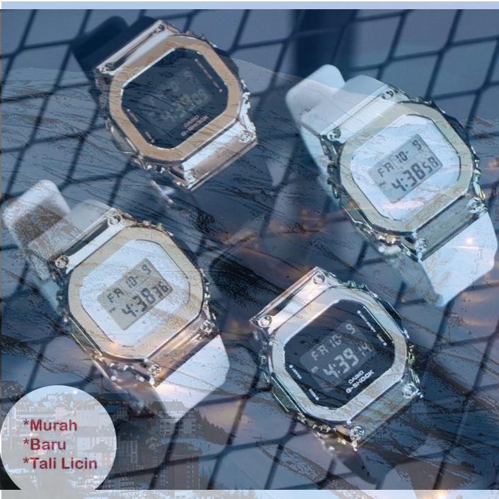 防水病毒 G Shock 優質系列 Gm-S5600Pg-4Er Gshock 手錶, 適用於女性中性