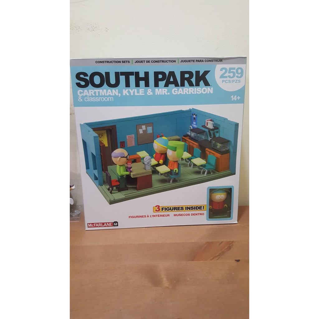 Mr Garrisons Classroom Construction Set McFarlane South Park