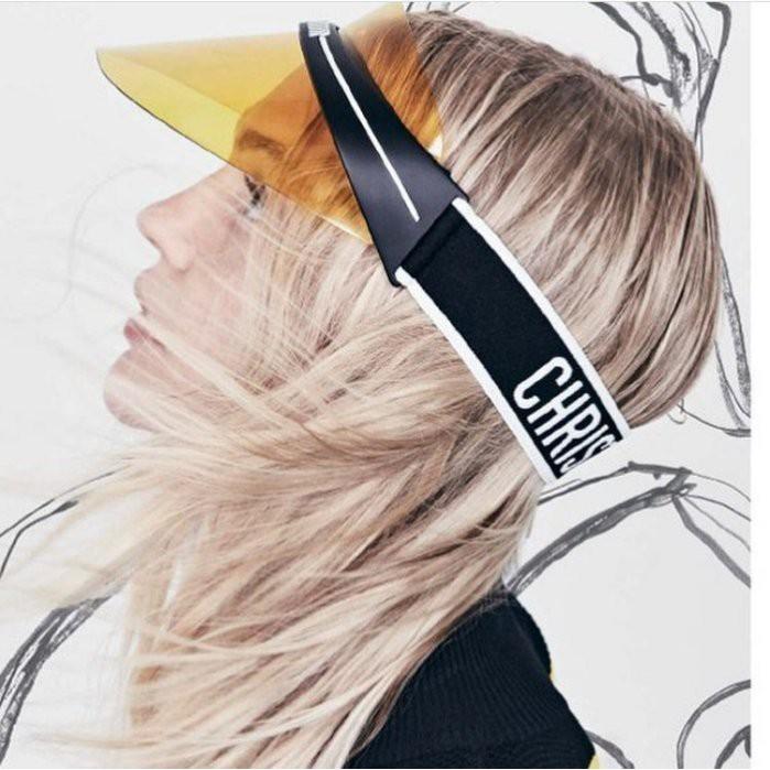 國際精品代購 Dior Visors 遮陽帽 黃