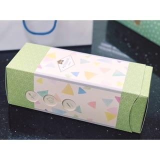 日式小山園 長條蛋糕盒 抽屜盒 包裝 附托盤 現貨 臺中市