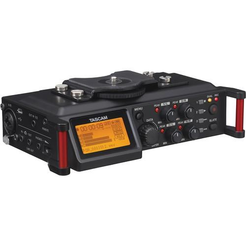 【TASCAM】TASDR-70D DR-70D 單眼用錄音機 (公司貨) 贈超值好禮