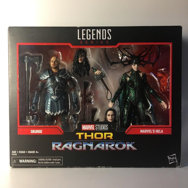 Marvel legends 漫威傳奇 6吋可動人偶 電影紀念 諸神黃昏 雙人包 海拉 史克吉