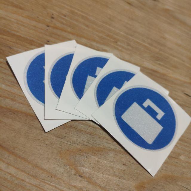 UberEats反光接單貼紙(現貨秒出)