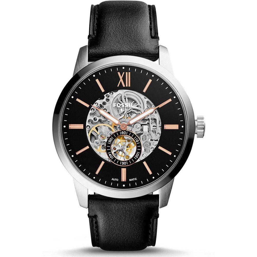 FOSSIL手錶 ME3153 前後鏤空 獨立秒針 機械錶款 錶現精品 原廠正品