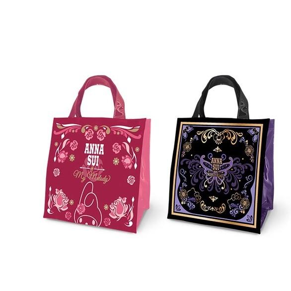 【現貨】7-11時尚聯萌集點送 【ANNA SUI & Sanrio】時尚托特手提袋-玫瑰款、蝴蝶款