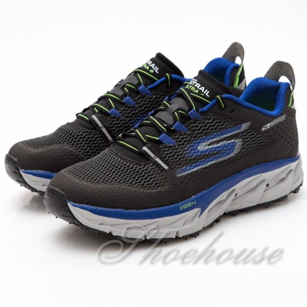 SKECHERS (男) 跑步系列 GO Trail Ultra 4 - 54111BKBL - 原價3990元