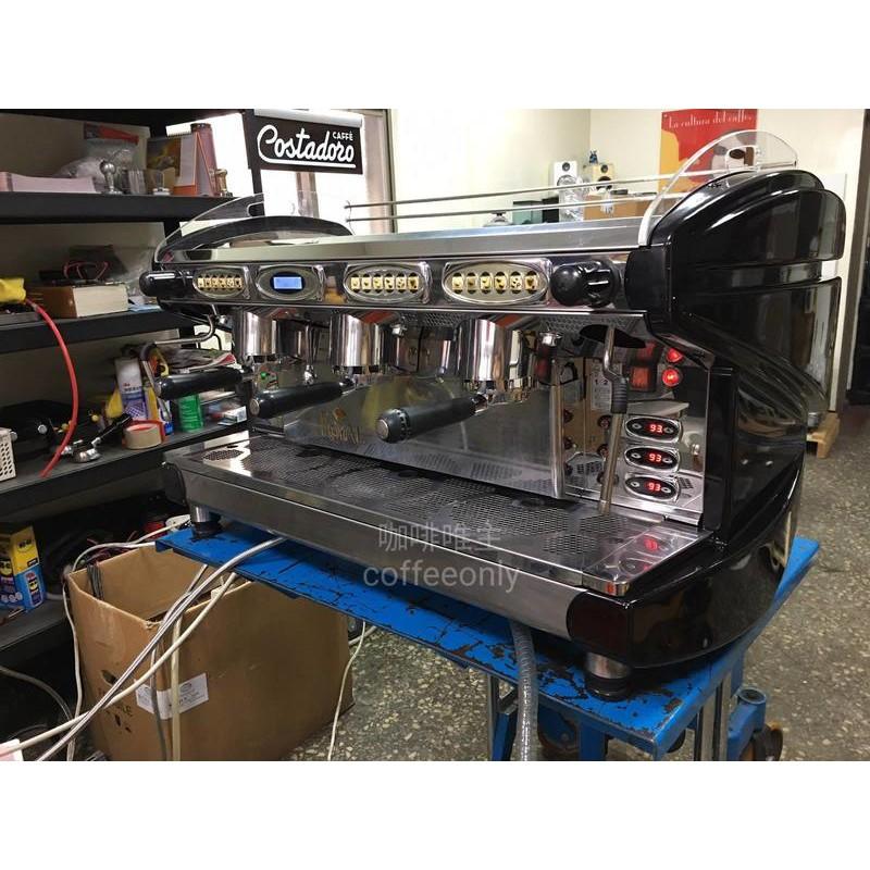 【咖啡唯主】二手 中古 義大利進口 BFC LIRA TCI 多鍋爐半自動咖啡機 三孔商用 營業用半自動咖啡機