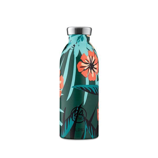 24Bottles不鏽鋼雙層保溫瓶/ 500ml/ 熱帶風情 誠品eslite