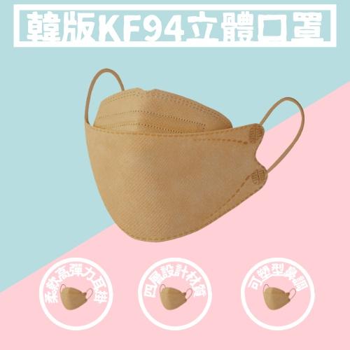 木木家族 韓版KF94 魚型口罩 魚嘴 3D立體 四層口罩 3D立體 折疊口罩 KF94口罩 成人口罩 防塵 KF94