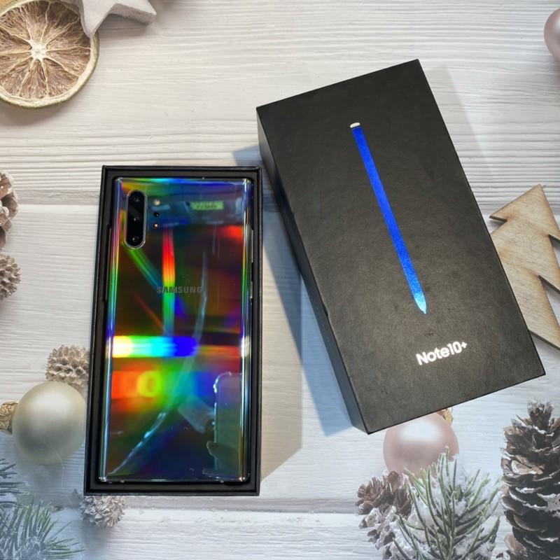 三星Samsung Note10+ 256銀色 台版福利品 一個月保固