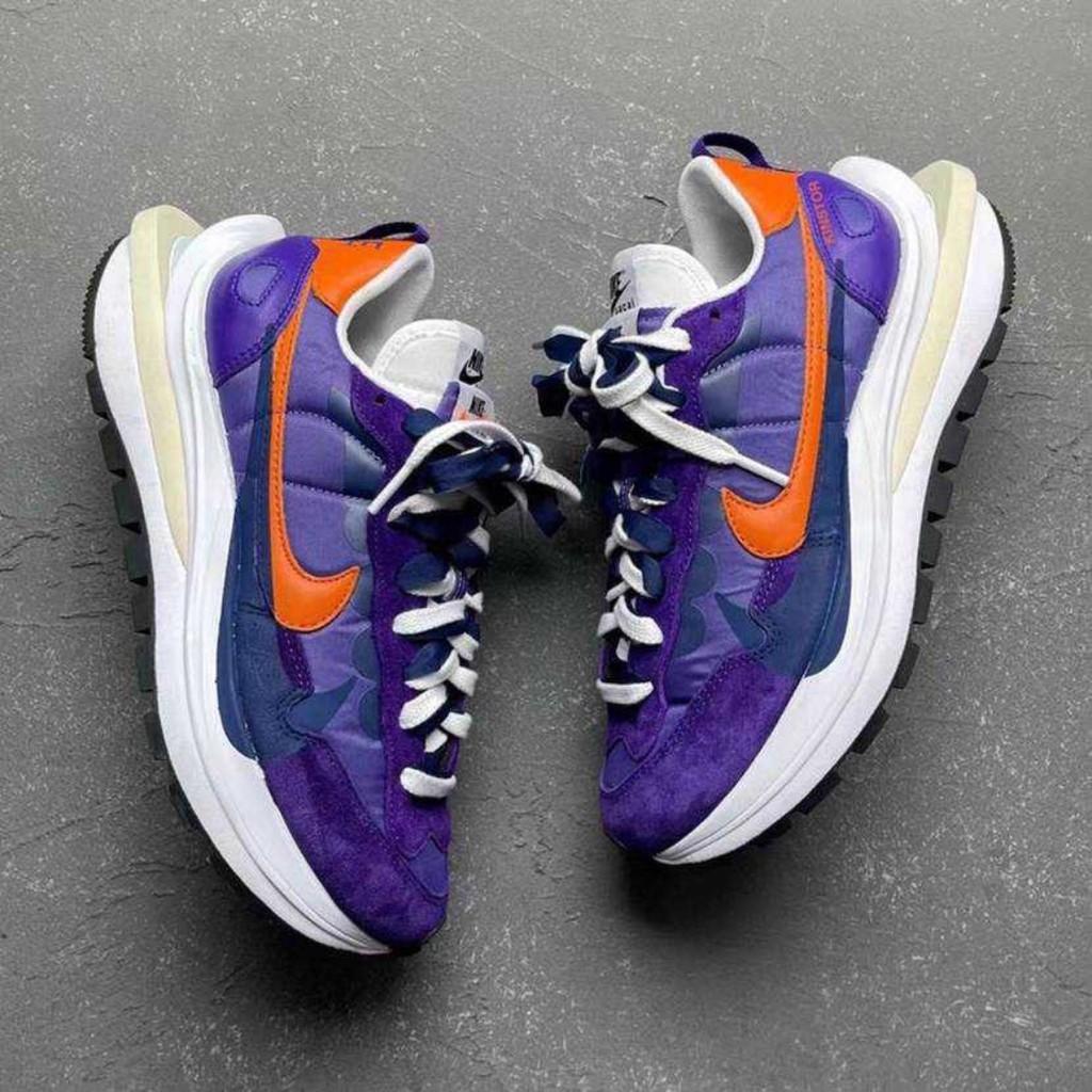玖兒代購 Sacai x Nike VaporWaffle Dark Iris 紫金 DD1875-500