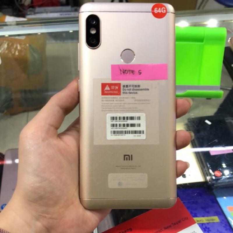 出清 💐 紅米Note5 4G/64G 5.99吋 台灣公司貨 台中 永和 實體店 超商取貨付款 二手品 中古手機
