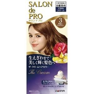 🇯🇵 SALON de PRO 白髮專用 染髮劑 無味型 五色選-3/4/5/6
