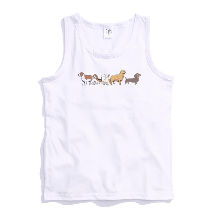 ONE DAY 台灣製 162C304 素背心 寬鬆衣服 短袖衣服 衣服 T恤 短T 素T 寬鬆短袖 背心 透氣背心