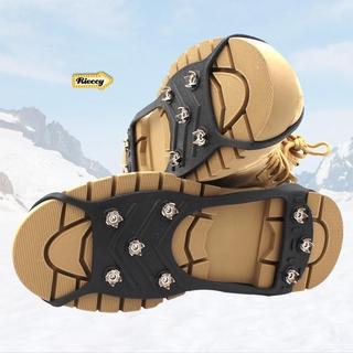 Rieccy. 8齒冰爪防滑鞋套戶外簡易鞋釘