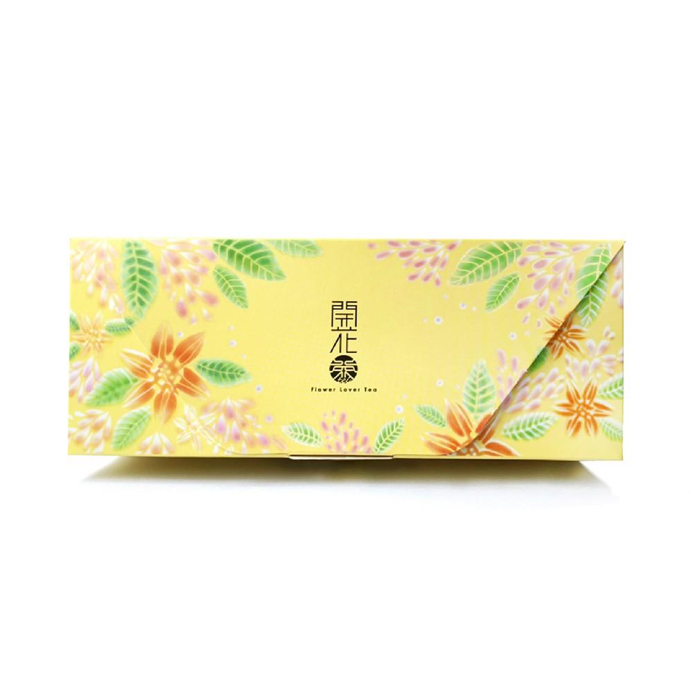 【無藏茗茶】開花茶 會開花的茶_3入精緻花茶禮盒(任三款隨機組合)