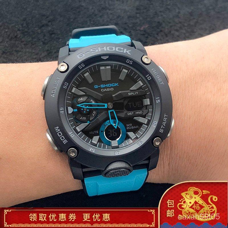 KEqN 卡西歐手錶 G-SHOCK GA-2000/1A2/9/3A/5A/GA-2100 多功能運動電