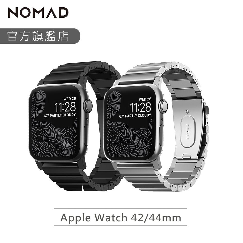 【全球限量】NOMAD  Apple Watch 鈦金屬錶帶