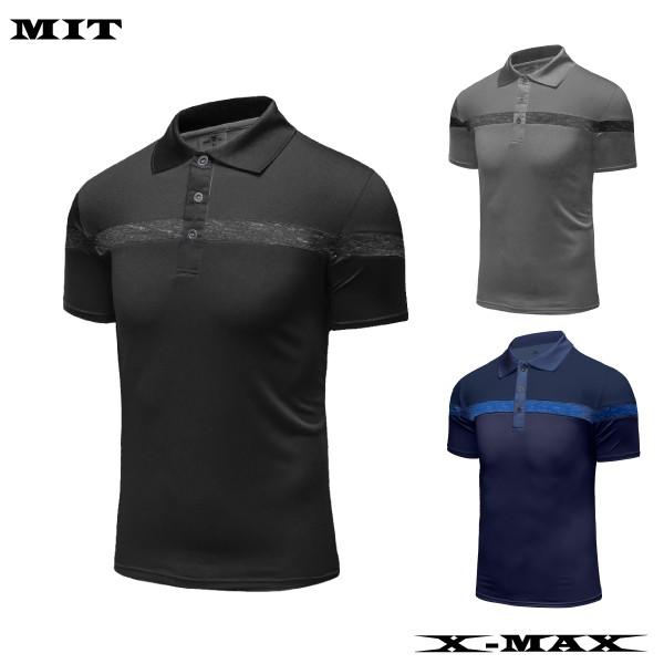 特價299~排汗王~X-MAX~MIT-X1950男款配色運動短袖POLO衫~百搭~配色~低調~時尚~
