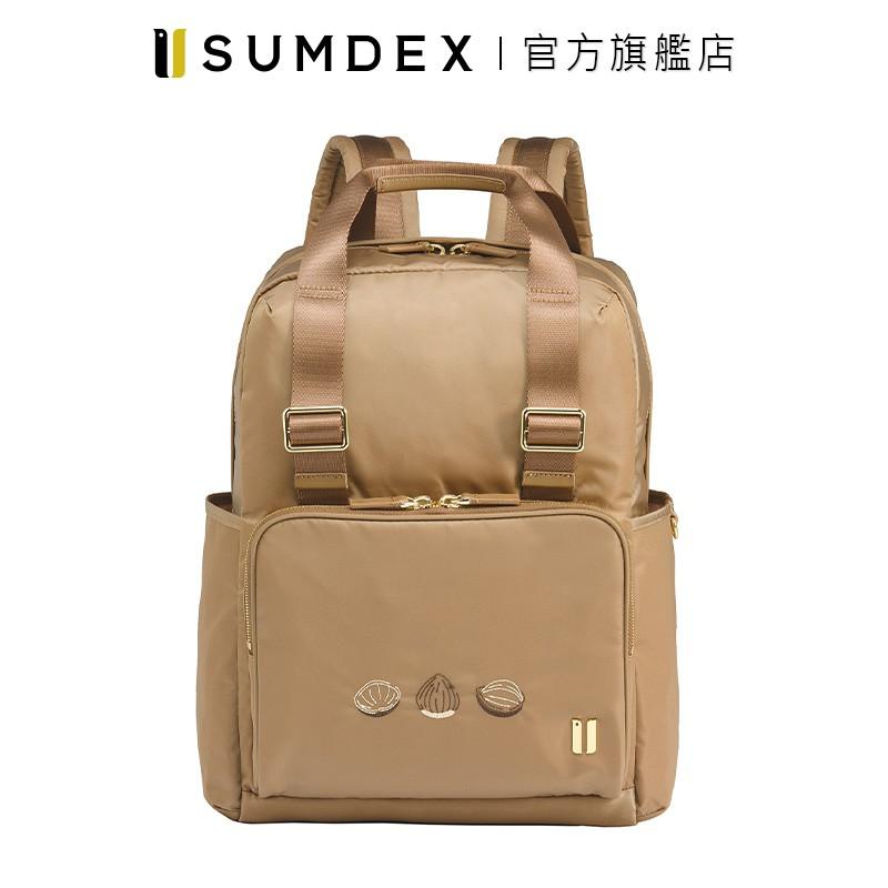 Sumdex 手提式雙用後背包(真果版) NON-705TN-HN 褐色 官方旗艦店