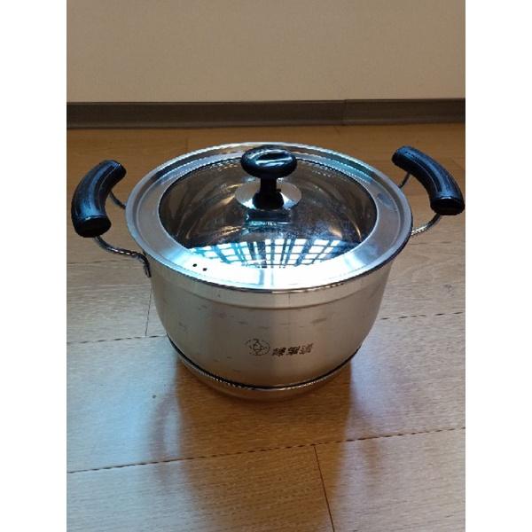 [免運✚]婦樂透 高效節能 免火再煮鍋 不鏽鋼鍋 12人份