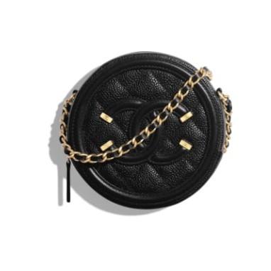 Chanel 鏈子小包 單肩包 零錢包 AP0365