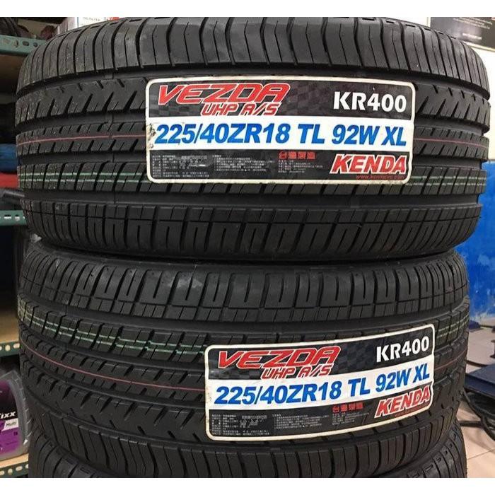 【優質輪胎】建大KR400全新胎_225/45/19_台灣製(FK453 SU4 T001 VE303 PS4S)三重區