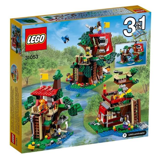LEGO|Creator|31053|絕版品|只要21318 1/3的價格就可入手的樹屋冒險LEGO 31053