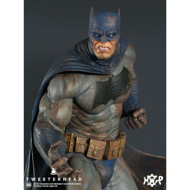 現貨 限定版 SIDESHOW TWEETERHEAD 蝙蝠俠 BATMAN 黑暗騎士歸來 DARK NIGHT 限定版