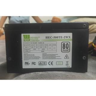 偉訓hec-500te-2wx 500w 80+電源供應器 雲林縣