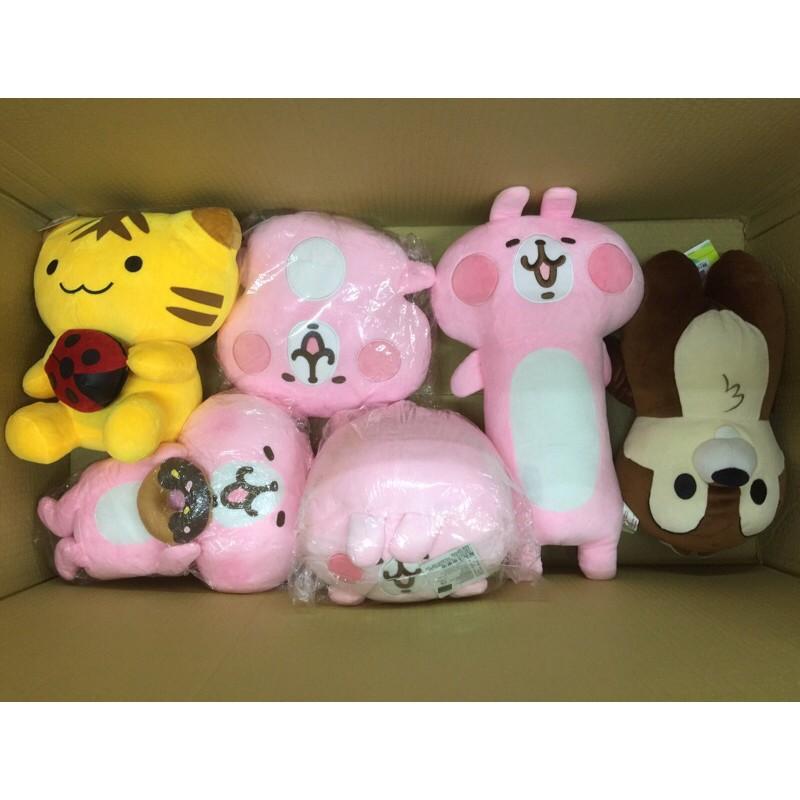 🌟ITA娃娃機商品共6件🌟可愛絨毛娃娃約10-20吋現貨低價批發