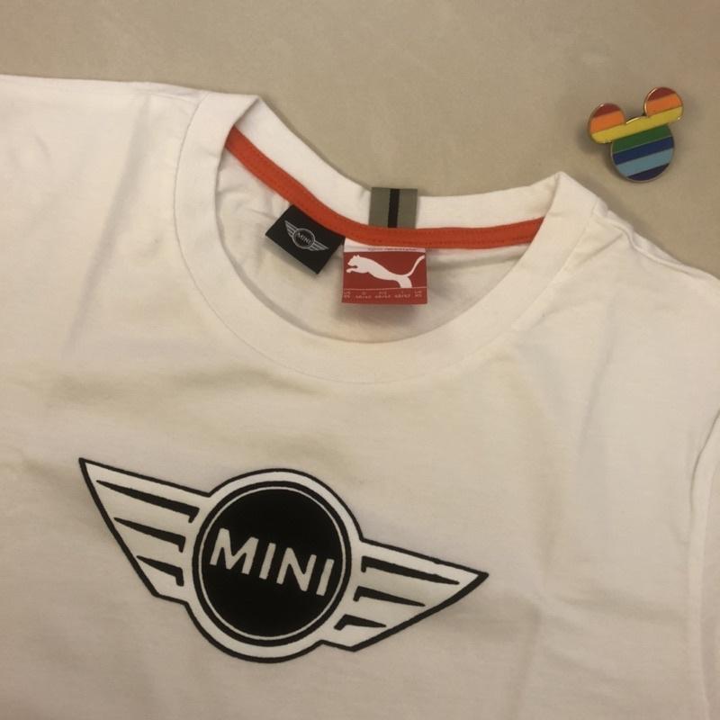 幾全新 Mini Cooper X Puma 白色logo T恤