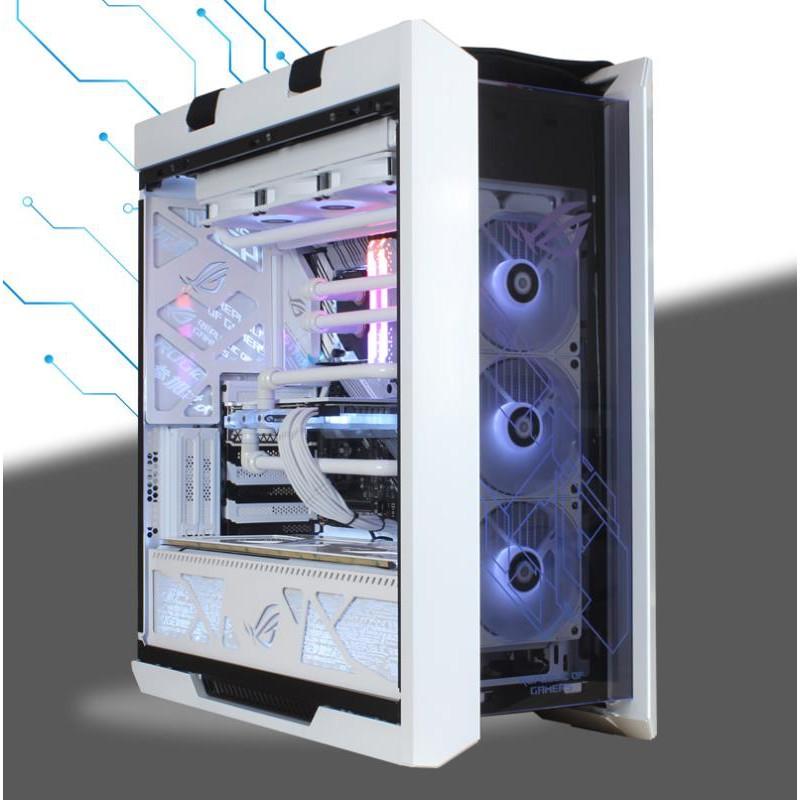 ROG全家桶 i9 10900K 雙路RTX3090 3080高端主機游戲分體水冷電腦#東金靚淘運動