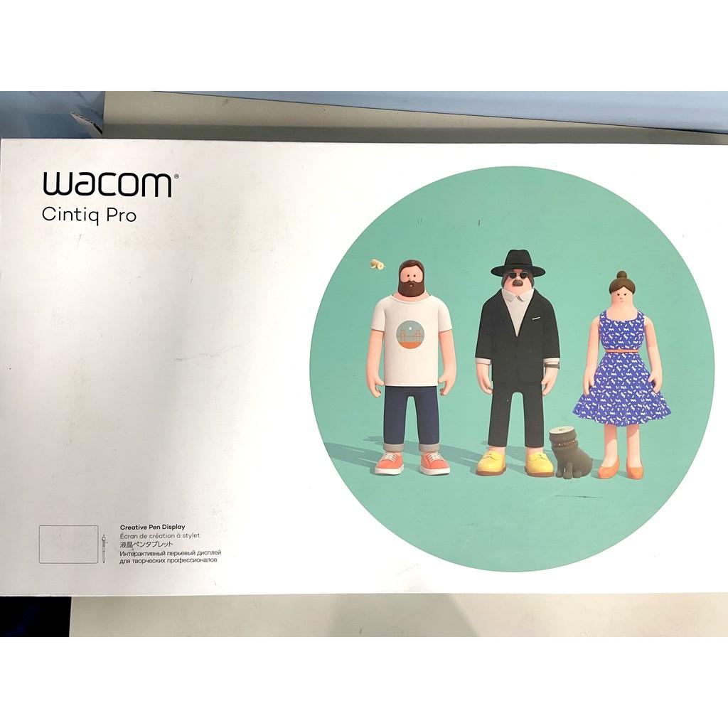 【二手】Wacom Cintiq Pro 16  觸控繪圖螢幕4K解析度