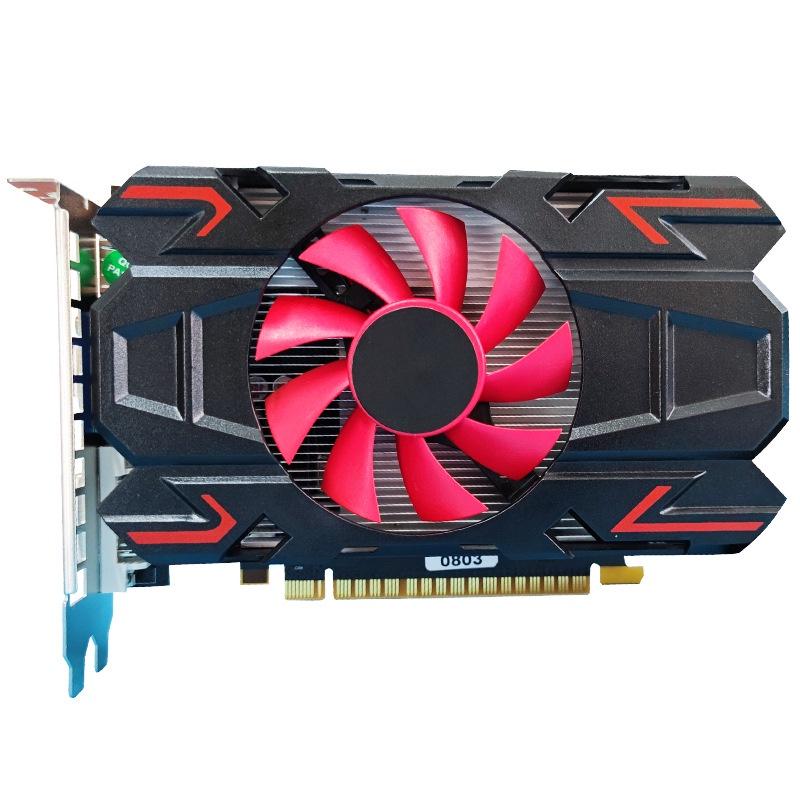 【限時折扣】全新HD7670 d5台式機獨立遊戲AMD顯卡外貿款超6450 5450 610 XvqM