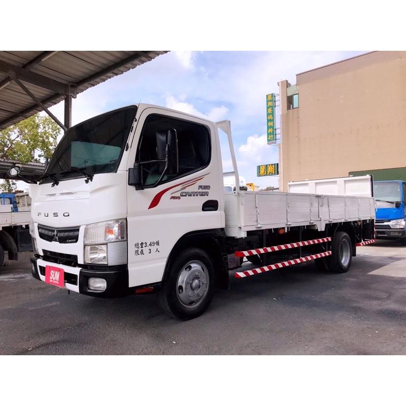 2017年 三菱 FUSO 堅達貨車 14呎半 自排車 外雙芯雙折尾門 14.5呎貨車 自排貨車