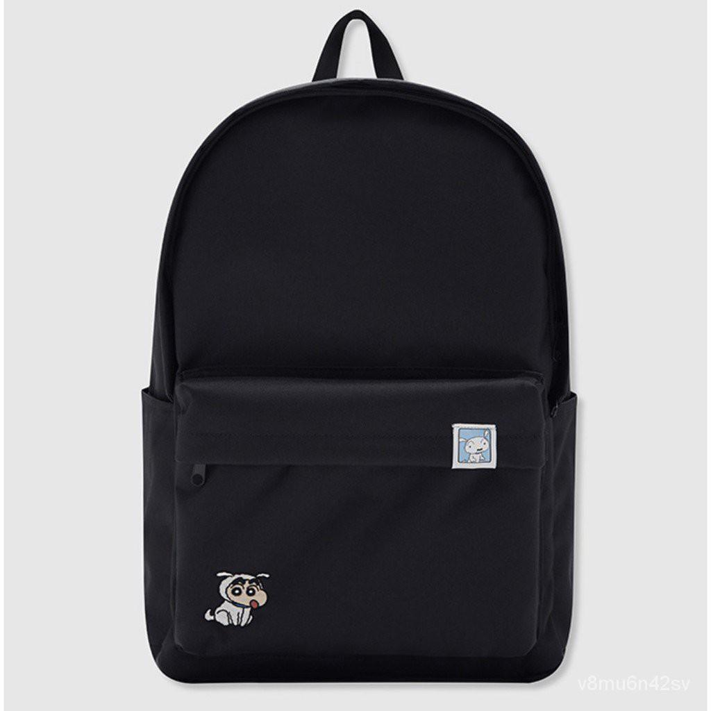 SPAO x 蠟筆小新 雙葉幼稚園 後背包 筆電包 韓國限定 quBs