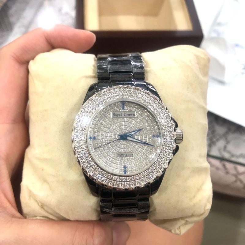 Royal Crown手錶 兩色[一黑一白]1支6000元