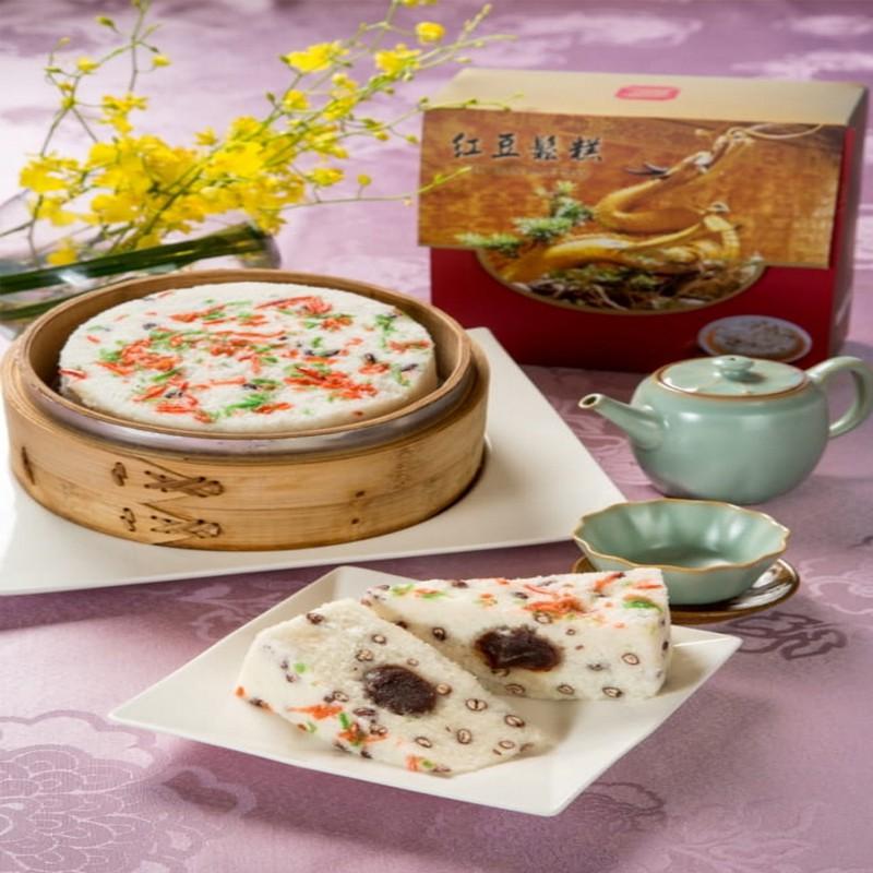 圓山大飯店 御製紅豆鬆糕/6吋[年菜+預購]蔣夫人宋美齡女士親自口述傳承的私房美點 糕點 甜點 廠商直送