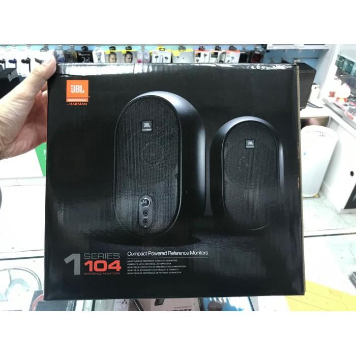 禾豐音響 美國 JBL 104 4.5吋 同軸電腦監聽喇叭 公司貨保1年