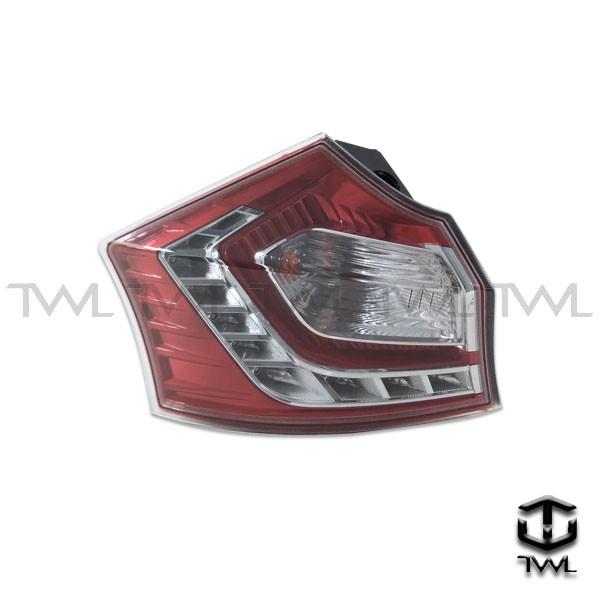 <台灣之光>LUXGEN 納智捷 U6 13 14 15 16 17 年原廠型紅白晶鑽LED外側尾燈